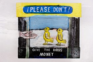 Bob Tooke: Please Don´t Give The Birds Money!