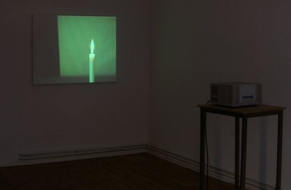Ioana Alexe: Untitled, Installation Galerie Crystal Ball Berlin