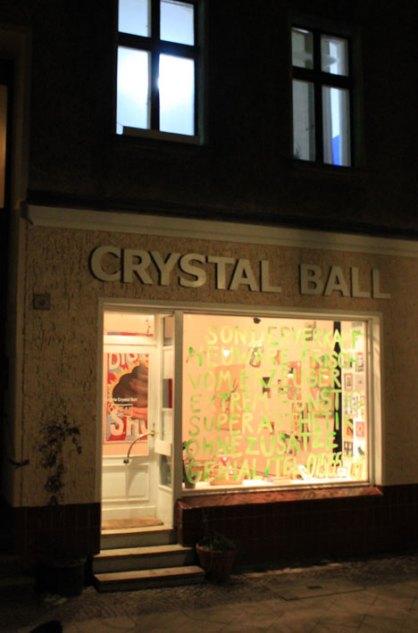 Lagerverkauf Galerie Crystal Ball Berlin