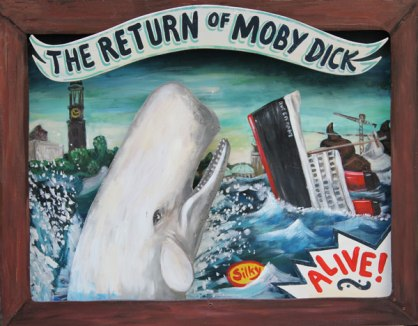Silke Thoss The return of moby dick Galerie Crystal Ball Berlin